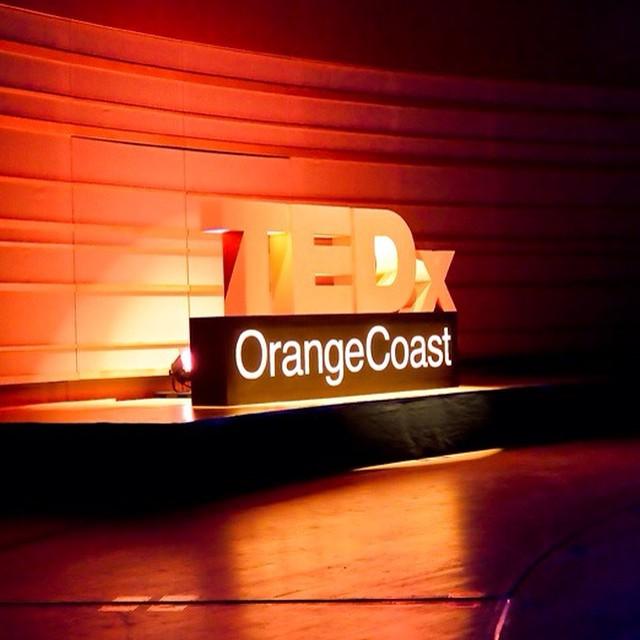 TedXOrange Coast Sign