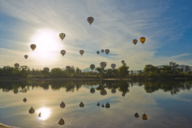 Temecula Valley Reopens Hot Air Balloons